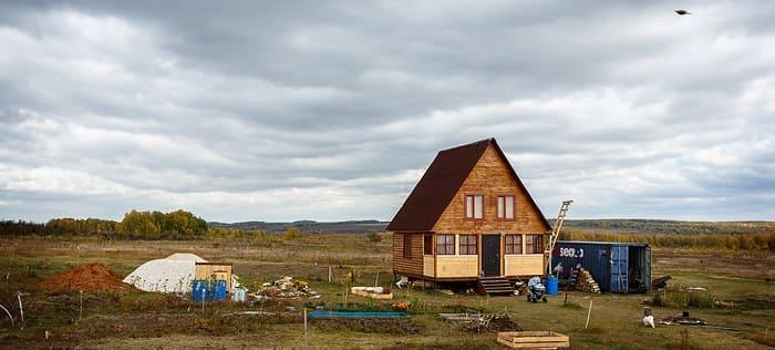 На каком участке земли сельхозназначения можно строить дом